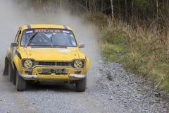 Ένα αυτοκίνητο συνάθροισης Mki Ford Escort στοκ εικόνα