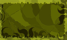 Ένα αφηρημένο grunge πράσινο υπόβαθρο Στοκ Εικόνα
