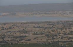 Ένα βλέμμα άνωθεν στο Σόλτ Λέικ Dardanelles Στοκ εικόνες με δικαίωμα ελεύθερης χρήσης