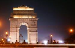 Ένα βράδυ στην ινδική πύλη στοκ φωτογραφία με δικαίωμα ελεύθερης χρήσης