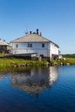 Ένα βόρειο σπίτι Στοκ εικόνες με δικαίωμα ελεύθερης χρήσης