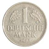 Ένα γερμανικό νόμισμα σημαδιών Στοκ Εικόνες