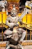 Ένα γιγαντιαίο άγαλμα στον ταϊλανδικό ναό Στοκ φωτογραφίες με δικαίωμα ελεύθερης χρήσης