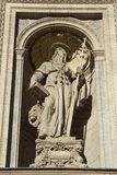 Λεπτομέρεια της βασιλικής του ST Stephen, Βουδαπέστη, Ουγγαρία Στοκ Εικόνες