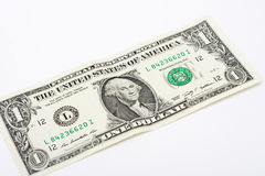 Ένα δολάριο Μπιλ Στοκ Εικόνες