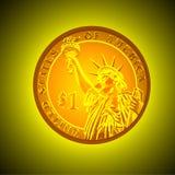 Ένα δολάριο Στοκ φωτογραφίες με δικαίωμα ελεύθερης χρήσης