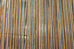 Ένα είδος χρήσης handloom για το βόρειο σπιτικό μετάξι ύφους Στοκ Εικόνα