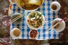 Ένα εγκάρδιο και υγιές αγροτικό γεύμα στοκ φωτογραφία με δικαίωμα ελεύθερης χρήσης