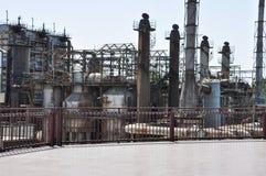 Ένα εγκαταλειμμένο εργοστάσιο αερίου Στοκ Φωτογραφία