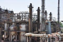 Ένα εγκαταλειμμένο εργοστάσιο αερίου Στοκ φωτογραφία με δικαίωμα ελεύθερης χρήσης