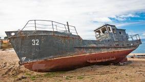 Ένα εγκαταλειμμένο σκάφος Στοκ φωτογραφίες με δικαίωμα ελεύθερης χρήσης