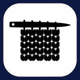 Ένα εικονίδιο για τα χειροποίητα αγαθά Στοκ εικόνες με δικαίωμα ελεύθερης χρήσης