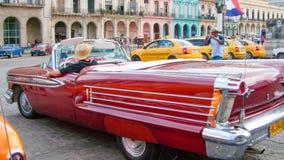 Ένα εκλεκτής ποιότητας αυτοκίνητο της Κούβας στην Αβάνα στην παλαιά πόλη Στοκ Εικόνα