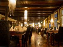 Ένα εκλεκτής ποιότητας εστιατόριο Στοκ Φωτογραφία