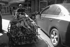 Ένα εργαζόμενο άτομο Στοκ εικόνα με δικαίωμα ελεύθερης χρήσης
