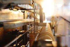 Ένα εργοστάσιο για την παραγωγή του ηλιέλαιου Στοκ Εικόνες