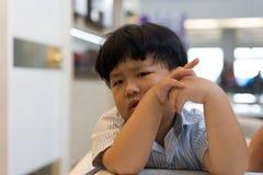 Ένα ευμετάβλητο αγόρι Στοκ εικόνες με δικαίωμα ελεύθερης χρήσης