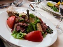 Ένα εύγευστο γεύμα Στοκ φωτογραφία με δικαίωμα ελεύθερης χρήσης
