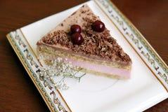 Ένα εύγευστο κέικ Στοκ Φωτογραφίες