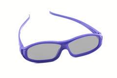 τρισδιάστατα γυαλιά κινηματογράφων Στοκ εικόνες με δικαίωμα ελεύθερης χρήσης