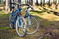 Ένα ζευγάρι των ποδηλάτων Στοκ Φωτογραφίες