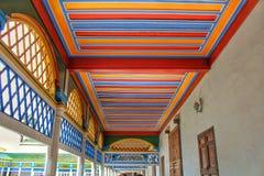Ένα ζωηρόχρωμο παλάτι Bahia στεγών Στοκ εικόνες με δικαίωμα ελεύθερης χρήσης