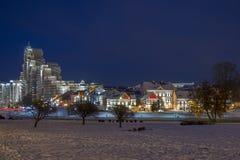Ένα ζωηρόχρωμο Hill τριάδας στο Μινσκ Στοκ εικόνα με δικαίωμα ελεύθερης χρήσης