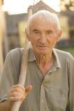 Ένα ηλικιωμένο πορτρέτο ατόμων ` s Στοκ Φωτογραφίες