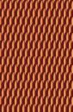 Ένα θαμπό αλλά ενδιαφέρον σχέδιο κοκκίνου και ροδάκινων στοκ φωτογραφία με δικαίωμα ελεύθερης χρήσης