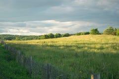 Ένα θερινό απόγευμα στους λόφους του Βερμόντ στοκ φωτογραφία με δικαίωμα ελεύθερης χρήσης