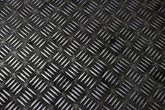 Ένα διαγώνιο σχέδιο στο γκρίζο μέταλλο jpg Στοκ Εικόνες
