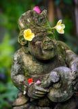 Ένα διακοσμημένο άγαλμα ναών στο Μπαλί, Ινδονησία στοκ εικόνες