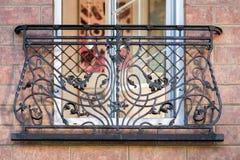 Ένα διακοσμητικό μπαλκόνι Στοκ Εικόνα