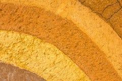 Ένα διαμορφωμένο στρώμα του χώματος αργίλου για το υπόβαθρο Στοκ Εικόνα
