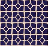 Ένα διανυσματικό απλό δίχρωμο σχέδιο πλέγματος Στοκ Εικόνα