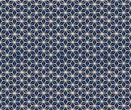Ένα διανυσματικό απλό δίχρωμο σχέδιο πλέγματος Στοκ Φωτογραφία
