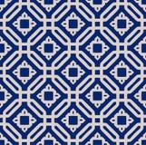 Ένα διανυσματικό απλό τετραγωνικό σχέδιο Στοκ Εικόνα
