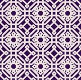 Ένα διανυσματικό απλό τετραγωνικό σχέδιο Στοκ Φωτογραφίες