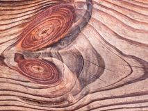 Ένα ιδιότροπο σχέδιο στην κοπή του ξύλου Αφηρημένη ξύλινη πλάτη στοκ φωτογραφίες