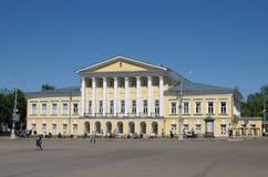 Ένα δικαστήριο σε Kostroma στοκ φωτογραφία με δικαίωμα ελεύθερης χρήσης