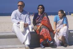Ένα ινδικό φεστιβάλ των αρμάτων στη Σάντα Μόνικα Καλιφόρνια Στοκ Φωτογραφίες