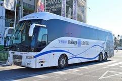 Ένα ισπανικό λεωφορείο Στοκ Εικόνες