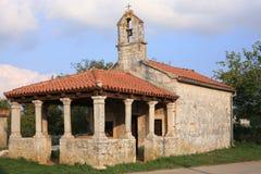 Ένα ιστορικό παρεκκλησι σε Istria, Κροατία Στοκ φωτογραφία με δικαίωμα ελεύθερης χρήσης