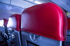 Ένα κάθισμα στο αεροπλάνο Στοκ Εικόνα