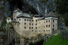 Ένα κάστρο στους βράχους Στοκ Εικόνα