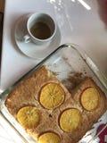 Ένα κέικ που γίνεται στο σπίτι Στοκ Εικόνες