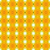 Ένα κίτρινο χαμηλότερο υπόβαθρο λουλουδιών άνθισης, άνευ ραφής σχέδιο, μπορεί ύφασμα Στοκ Εικόνες