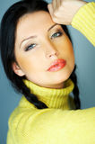 ένα κίτρινο Στοκ Εικόνες