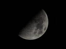 Ένα και μόνο μισό φεγγάρι Στοκ Εικόνες