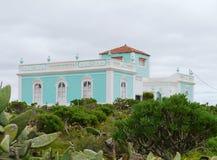Ένα κανάριο σπίτι σε Fuerteventura στοκ φωτογραφία